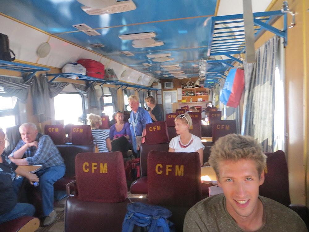 On the train between Odessa and Chișinău, 2016